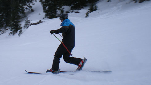 Innerkrems 2010 - Free Heel Skiing